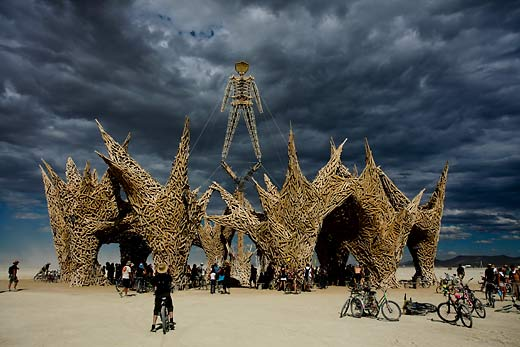 Burning Man Festival photo