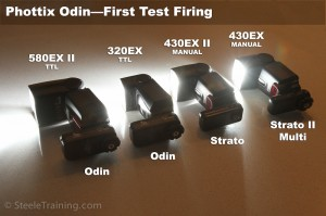 Phottix Odin Test with Canon Speedlites