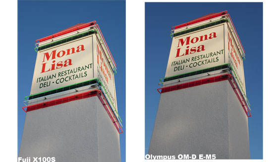 Photo comparison Fuji X100S to Olympus OMD EM5